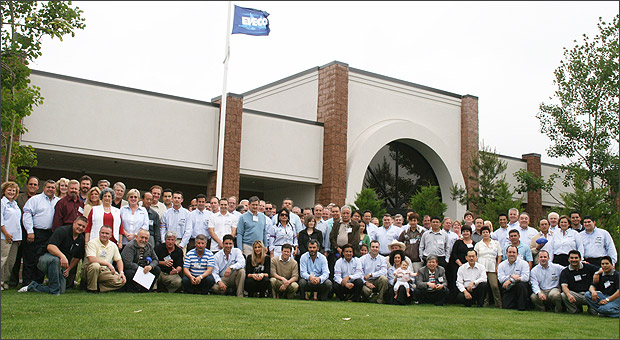 The ENECON Team outside their Global Headquarters